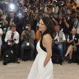 Asia Argento lors du photocall précédant la cérémonie d'ouverture du 62e Festival de Cannes le 13 mai 2009