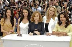 Isabelle Huppert décontractée et Asia Argento en vamp... Le jury du festival en image !