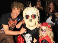 Igor Bogdanov et sa jeune chérie Julie Jardon, couple macabre pour Halloween