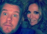 Hélène Ségara : Improbable selfie avec James Corden... carpool karaoké en vue ?