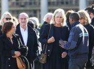 Obsèques de Philippe Gildas : Sa femme Maryse, digne et soutenue