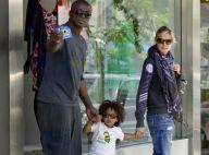 Heidi Klum et Seal : des parents tellement heureux...  street style et so cool !