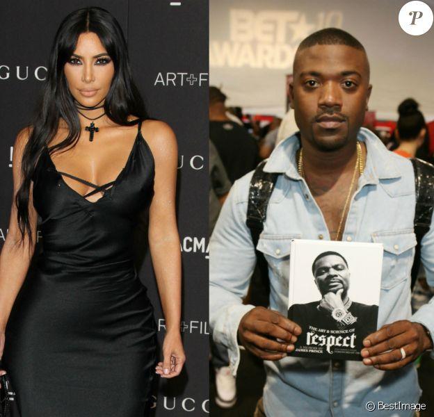 Kim Kardashian et Ray J.