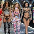 Cindy Bruna, Gigi Hadid, Kendall Jenner - Défilé Victoria's Secret à New York, le 8 novembre 2018