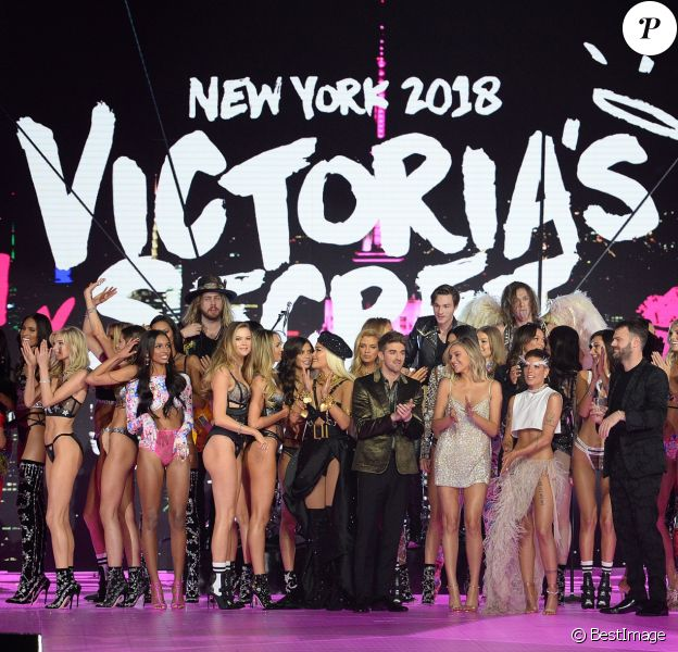 Atmosphere - Défilé Victoria's Secret à New York, le 8 novembre 2018.