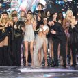 Final du défilé Victoria's Secret à New York, le 8 novembre 2018