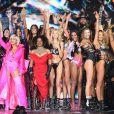 Final du défilé Victoria's Secret à New York, le 8 novembre 2018