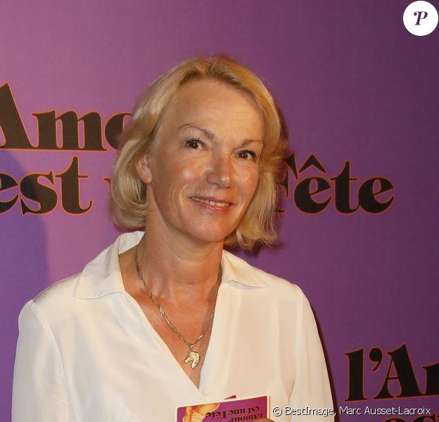 """Brigitte Lahaie - Avant-Première du film """"L'amour est une fête"""" au Max Linder à Paris le 17 Septembre 2018. © Marc Ausset-Lacroix/Bestimage"""