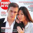 """Louis Ducruet et sa fiancée Marie dans """"Point de vue"""", en kiosques dès le 7 novembre 2018."""