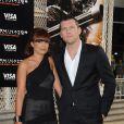 Sam Worthington et sa femme à la première de Terminator hier à Los Angeles