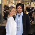 Matthew Settle et sa femme Naama à la première de Terminator hier à Los Angeles