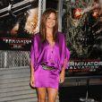 Brooke Burke à la première de Terminator hier à Los Angeles