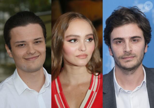 Lily-Rose Depp, Roman Kolinka et Jules Benchetrit en course pour les César 2019.