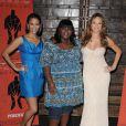 Paula Patton, Gabourey 'Gabby' Sidibe et Mariah Carey au photocall de  Precious .