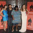 Paula Patton, Lenny Kravitz, Gabourey 'Gabby' Sidibe et Mariah Carey au photocall de  Precious .
