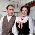 Richard Bull et Katherine MacGregor, couple iconique de La Petite Maison dans la prairie.