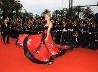 Une Frédérique Bel flamboyante et une Juliette Binoche radieuse sur le tapis rouge du palais des festivals !