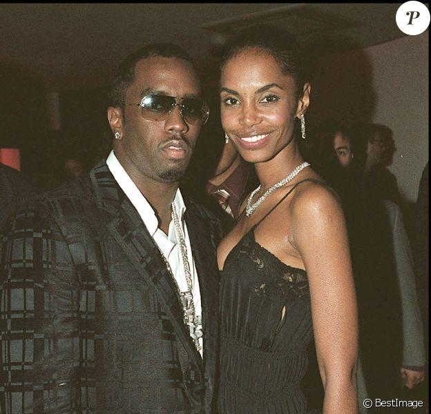 P. Diddy et Kim Porter lors d'une soirée à Paris en 2002