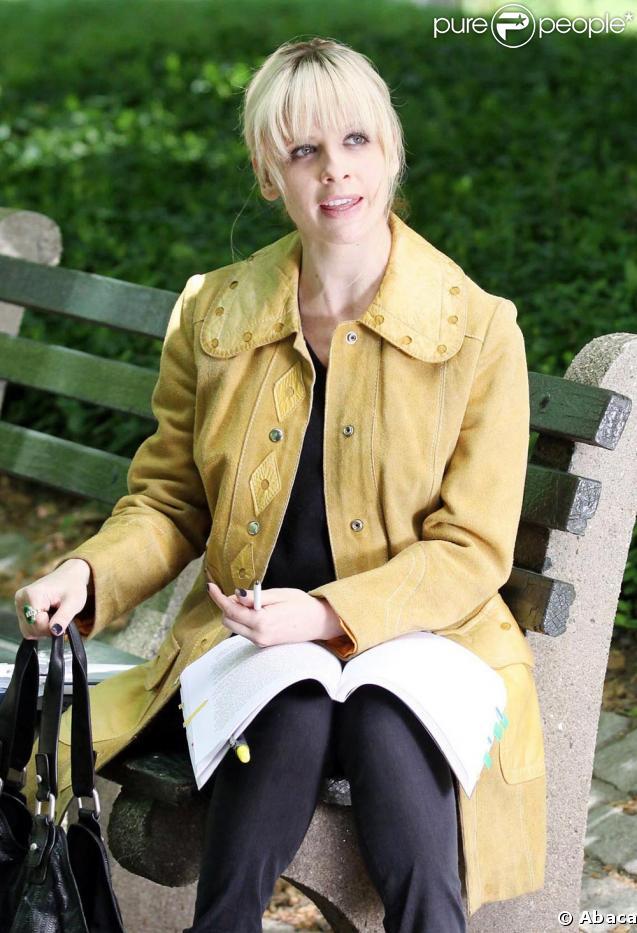 Sarash Michelle Gellar en plein tournage à New York