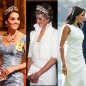 Meghan Markle et Kate Middleton : Ces bijoux qu'elles ont empruntés à Lady Diana