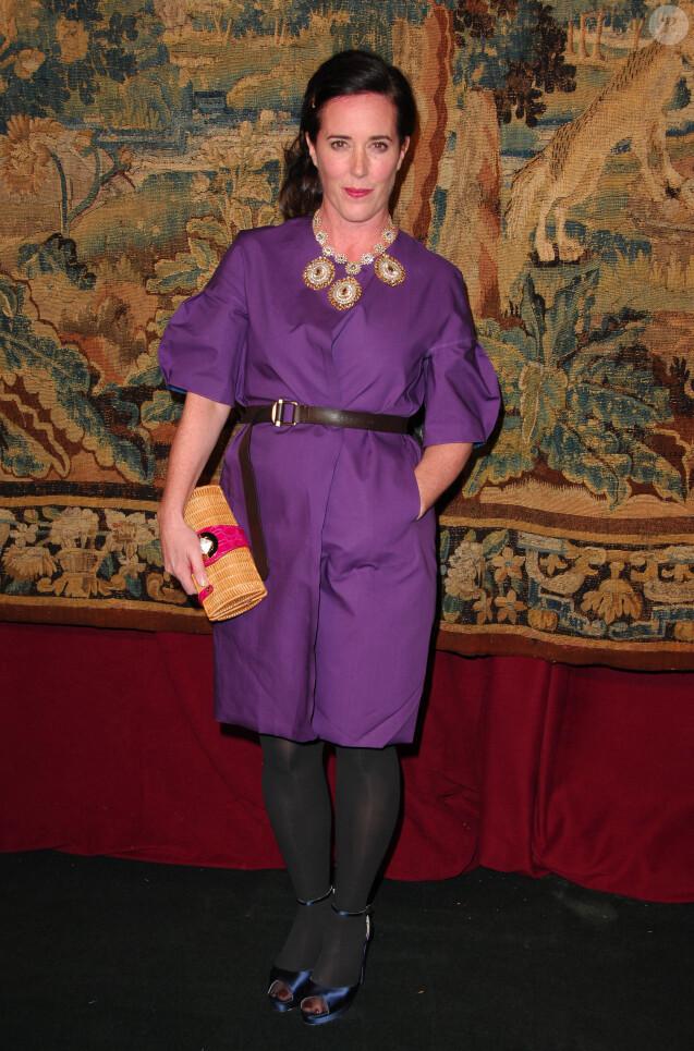 Kate Spade à New York. Novembre 2007.
