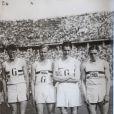 Godfrey Rampling durant les Jeux Olympiques de Berlin en 1936
