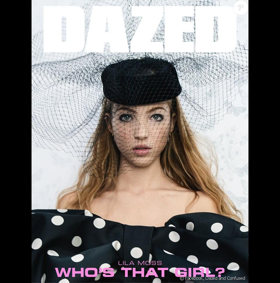 La fille de Kate Moss, Lila Grace Moss, figure en couverture du magazine Dazed and Confused. Photo par Tim Walker.