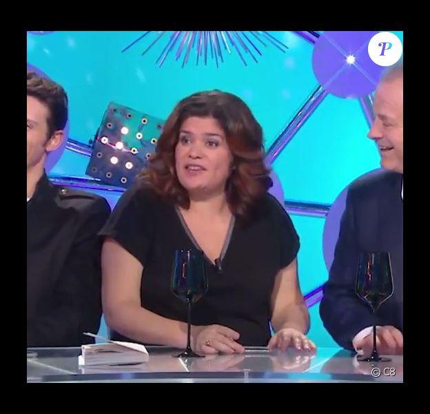 Raquel Garrido dans Les Terriens du dimanche, sur C8, le 25 novembre 2018