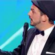 """Thibaut Rousseau dans """"Incroyable Talent 2018"""" sur M6, le 27 novembre 2018."""