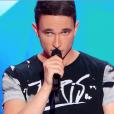 """Loïc dans """"Incroyable Talent 2018"""" sur M6, le 27 novembre 2018."""