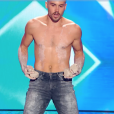 """Jimmy Gonzalez dans """"Incroyable Talent 2018"""" sur M6, le 27 novembre 2018."""