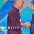 """Charlie et Styl'o dans """"Incroyable Talent 2018"""" sur M6, le 27 novembre 2018."""