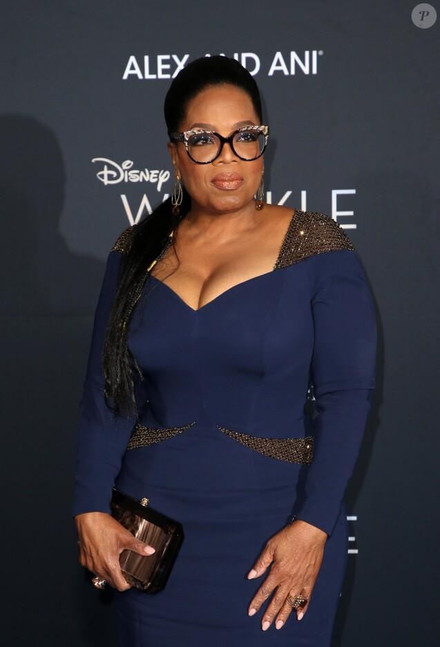 """Oprah Winfrey - Première du film """"Un raccourci dans le temps"""" (A Wrinkle In Time) au cinéma El Capitan à Los Angeles le 26 février 2018."""