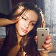 Oksana Voevodina  à l'époque où elle était encore mannequin.
