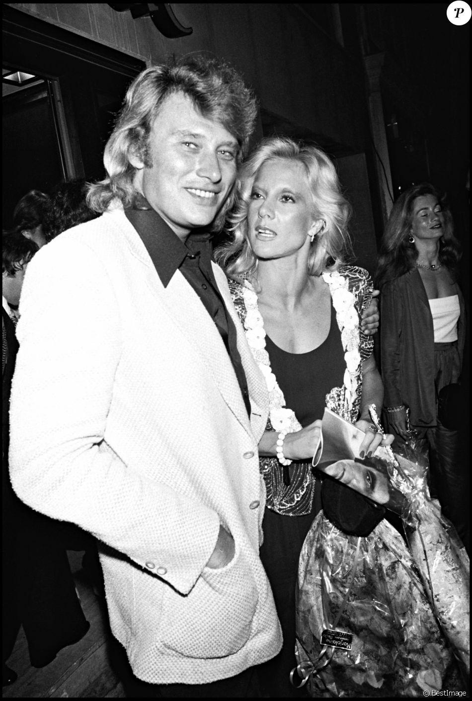 Johnny Hallyday et Sylive Vartan en 1979