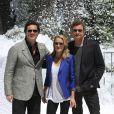 Jim Carrey, Robin Wright et Colin Firth présentent  A Christmas Carol  à Cannes. 18/05/09