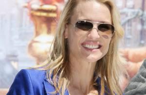 La très belle Robin Wright... a retrouvé le sourire à Cannes !