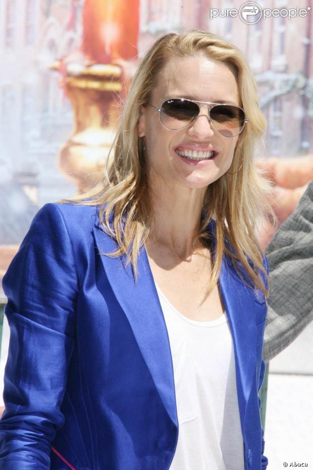 La très belle Robin Wright... a retrouvé le sourire à Cannes
