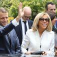 Le président de la République française Emmanuel Macron et sa femme la Première Dame Brigitte Macron visitent la cathédrale métropolitaine de Buenos Aires, Argentine, le 29 novembre 2018, lors d'une visite officielle avant de participer au G20. © Ludovic Marin/Pool/Bestimage