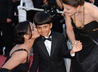 Le jeune héros de Slumdog Millionaire fait ses premiers pas à Cannes... Il est vraiment à croquer !