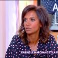 """Karine Le Marchand invitée dans """"C à vous"""", vendredi 7 décembre 2018, France 5"""
