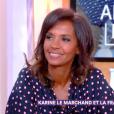"""Karine Le Marchand dans """"C à vous"""", vendredi 7 décembre 2018, France 5"""