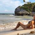 Vanessa Ponce de Leon, Miss Monde 2018, sur une plage au Mexique - Instagram, 30 août 2018