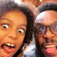 Houcine et son fils Chad - Instagram, 2 décembre 2018