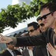 Quentin Tarantino lors du photocall d'Inglourious Basterds à Cannes le 20 mai 2009 lors du Festival de Cannes