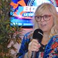 """Laurence Boccolini se livre auprès de """"Purepeople.com"""" sur la nouvelle aventure qu'est """"Big Bounce Battle"""", émission qu'elle coanime avec Christophe Beaugrand sur TF1."""