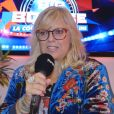 """Laurence Boccolini répond aux questions de """"Purepeople.com"""" lors de la conférence de presse de """"Big Bounce Battle"""" (TF1)."""