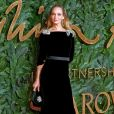 Uma Thurman à la soirée British Fashion Awards 2018 au Royal Albert Hall à Londres, le 10 décembre 2018