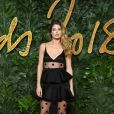 Doutzen Kroes assiste aux Fashion Awards 2018 au Royal Albert Hall à Londres, le 10 décembre 2018.