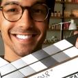 """Vinnie Dargaud, le comédien qui joue le rôle de Baptiste dans la série """"Clem"""" (TF1) avec Lucie Lucas."""